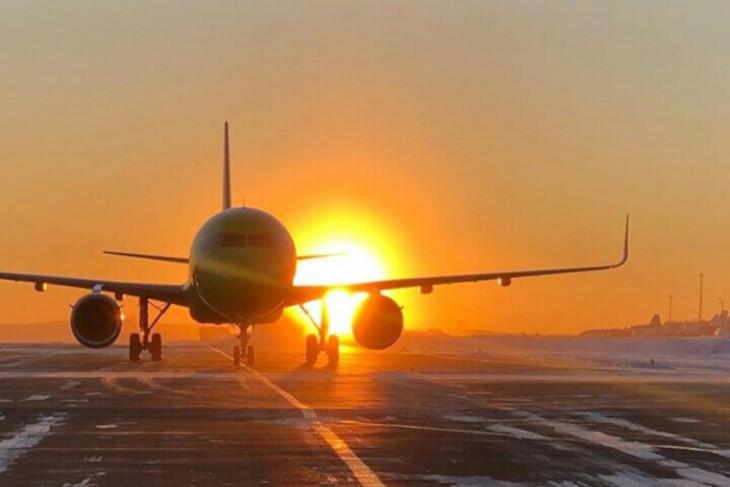 В аэропорту Иркутска. Фото Владимира Купцова со страницы аэропорта в «Фейсбуке»