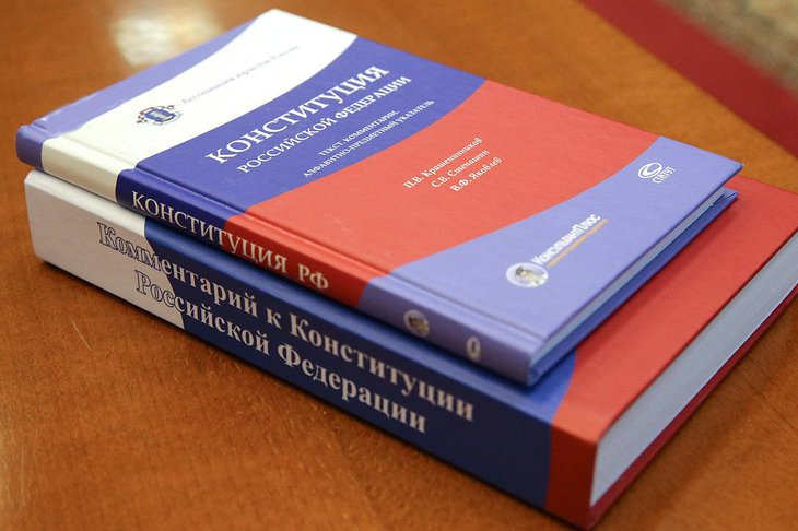 Конституция РФ. Фото пресс-службы Госдумы