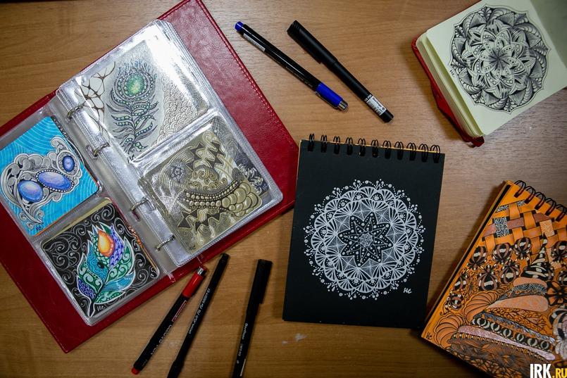 «Для меня рисование - это, прежде всего, профилактика эмоционального выгорания», - говорит Наталья