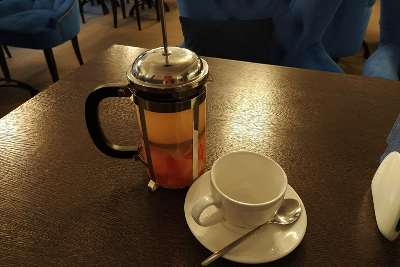 Имбирно-грейпфрутовый чай