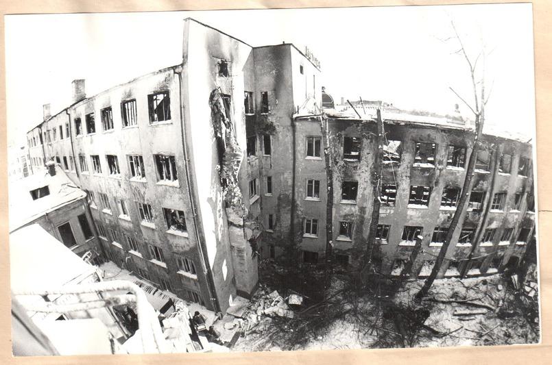 В результате пожаре в гостинице «Сибирь» погибли 7 человек, 5 объявлены пропавшими без вести