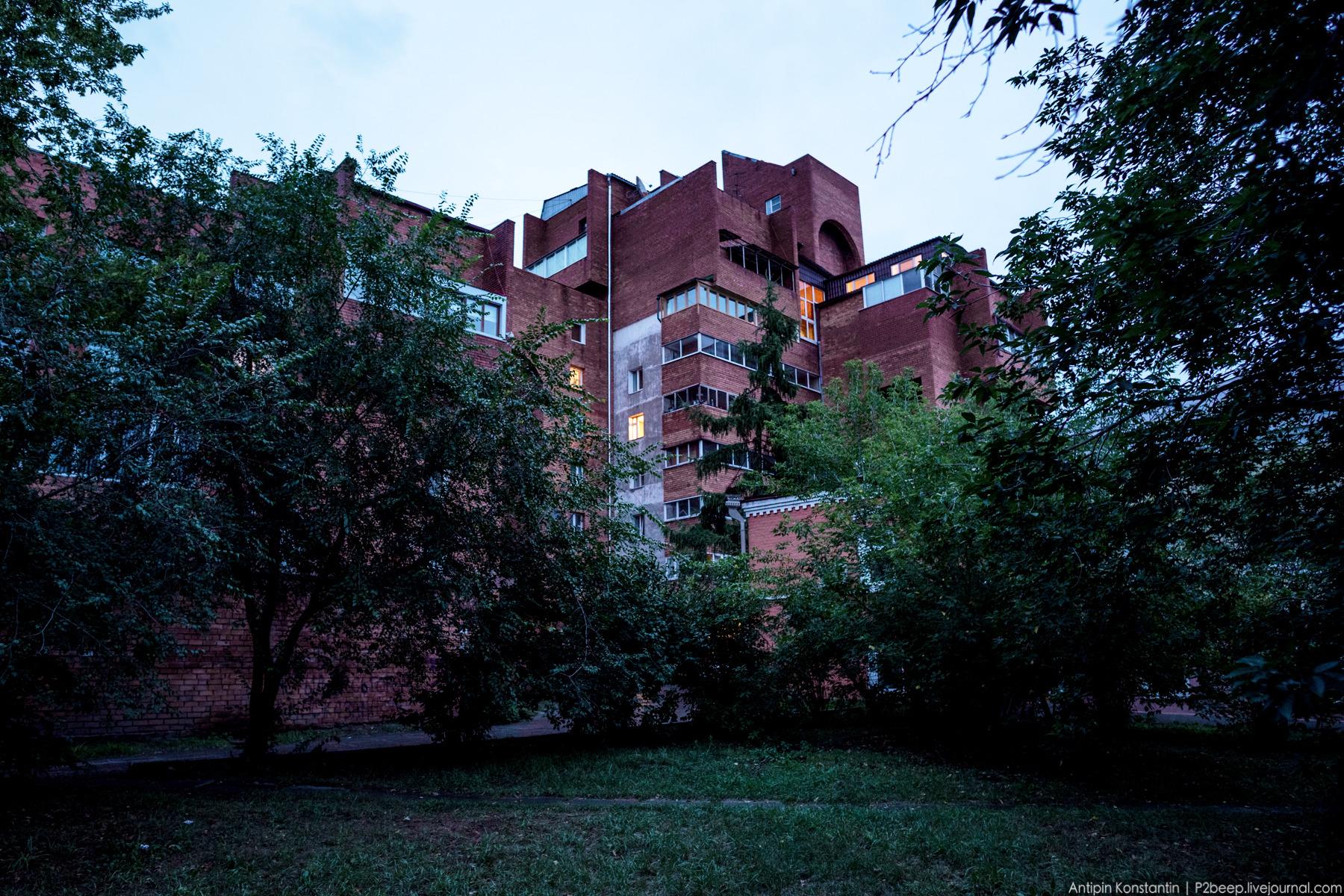 Строительство дома ВСЖД завершилось в 1986 году