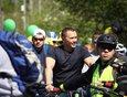 В мае 2019 года мэр принял участие во всероссийской акции велопарадов