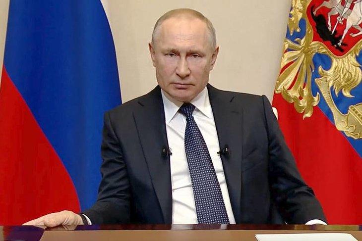 Владимир Путин. Фото Ruptly