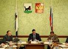 На заседании оперативного штаба. Фото пресс-службы администрации Иркутска