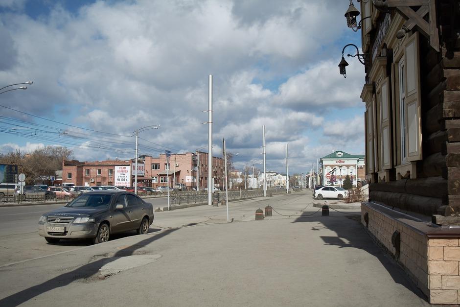 Улицы города заметно опустели. В 130-м квартале практически нет людей.
