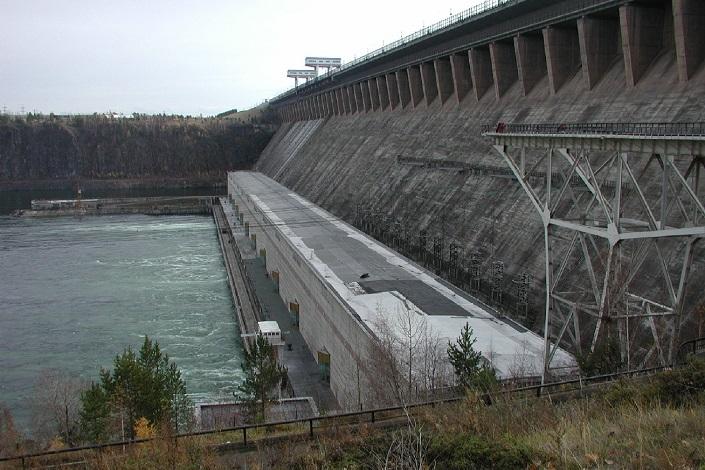 Братская ГЭС. Фото пресс-службы «Иркутскэнерго»