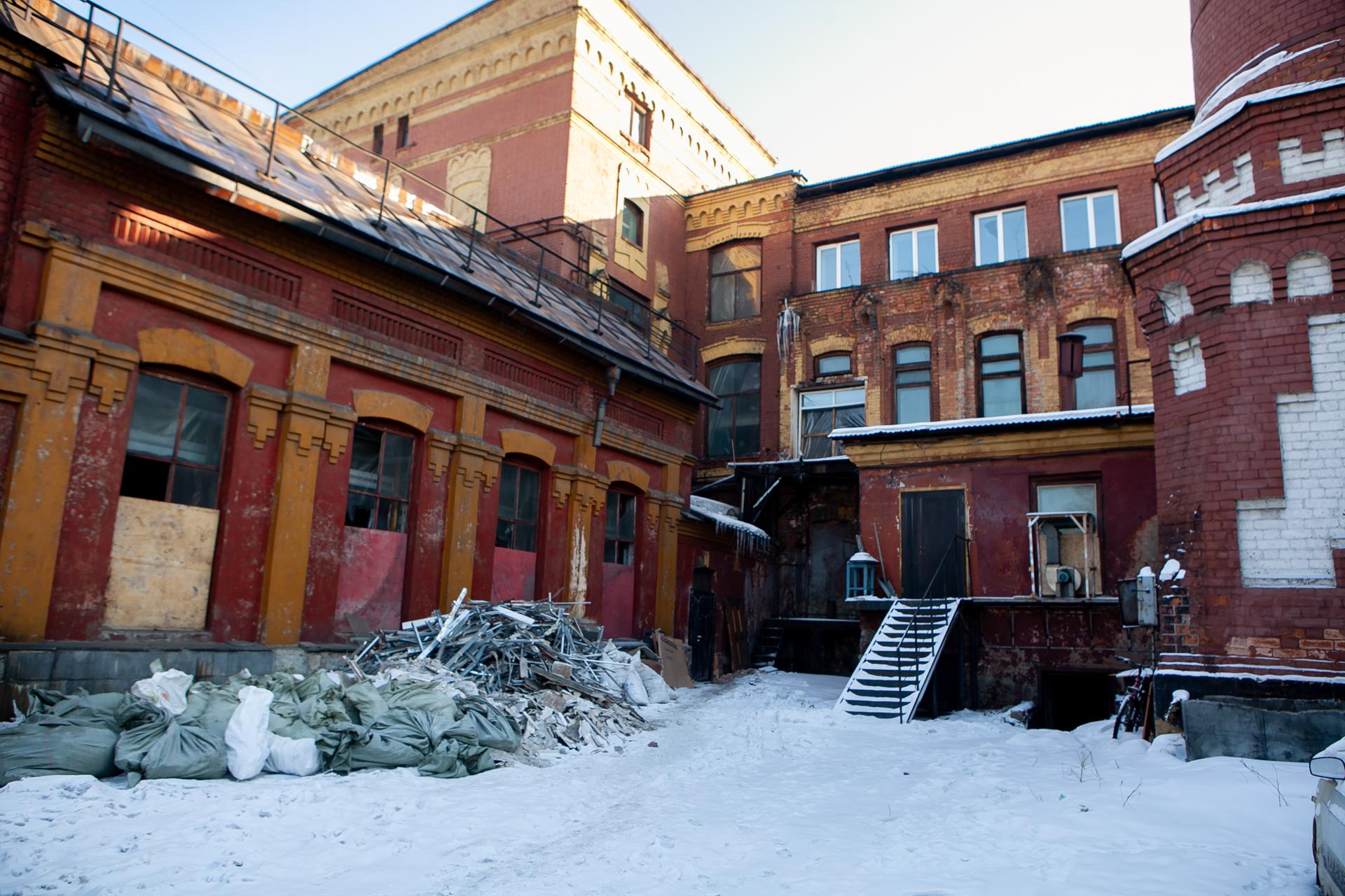 После войны оборудование и здание нуждались в ремонте
