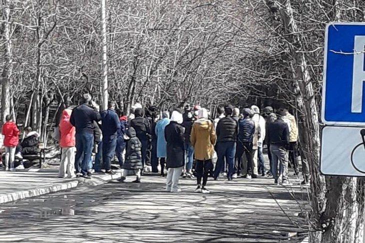Туристы в обсерваторе. Фото из группы «Сводка Шелехов»