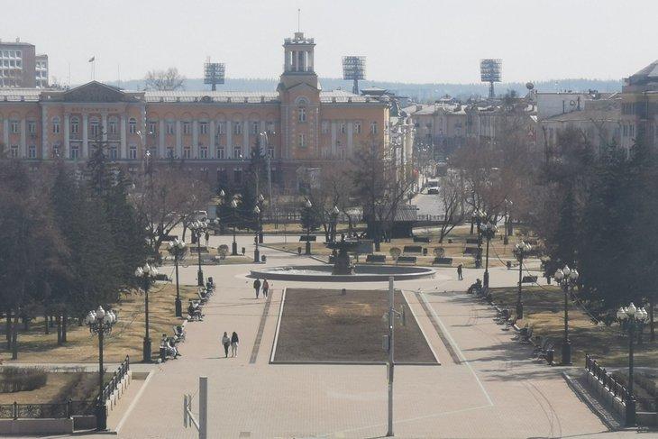 В Иркутске. Фото Алины Вовчек, IRK.ru