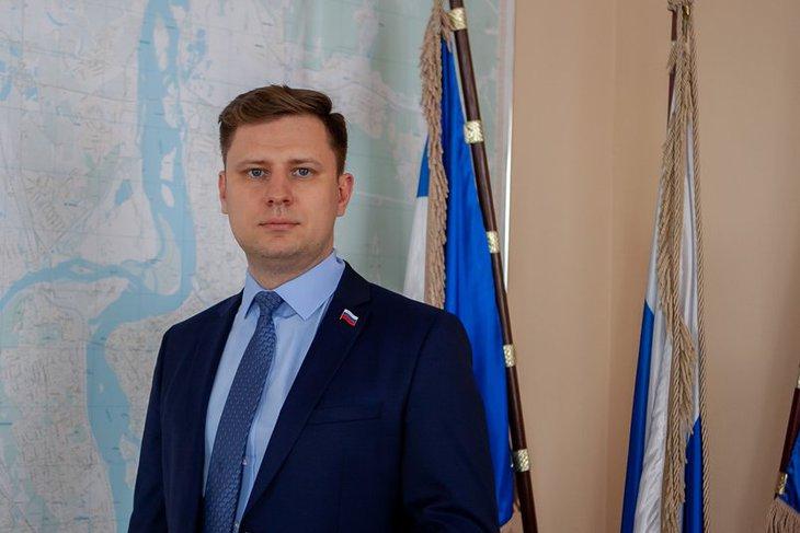 Дмитрий Ружников. Фото пресс-службы думы Иркутска