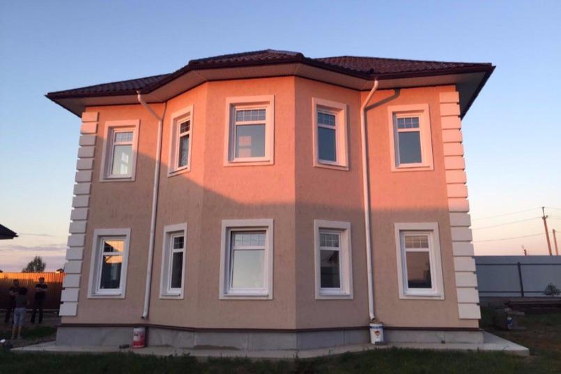 Дома, построенные из атоклавного газобетона