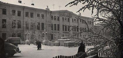 Центральный телеграф Иркутска в 1960 году. Фото Э. Берлова
