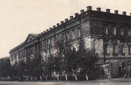 Мединститут. Фото 1950-1960-х годов с сайта fotostarina.ru
