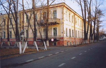 Иркутский военный госпиталь. Фото с сайта irkipedia.ru