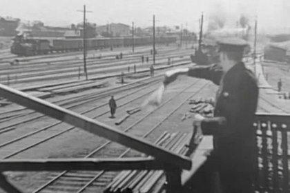 Кадры архивного видео