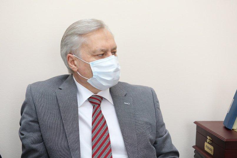 Президент Союза «Торгово-промышленная палата Восточной Сибири» Алексей Соболь
