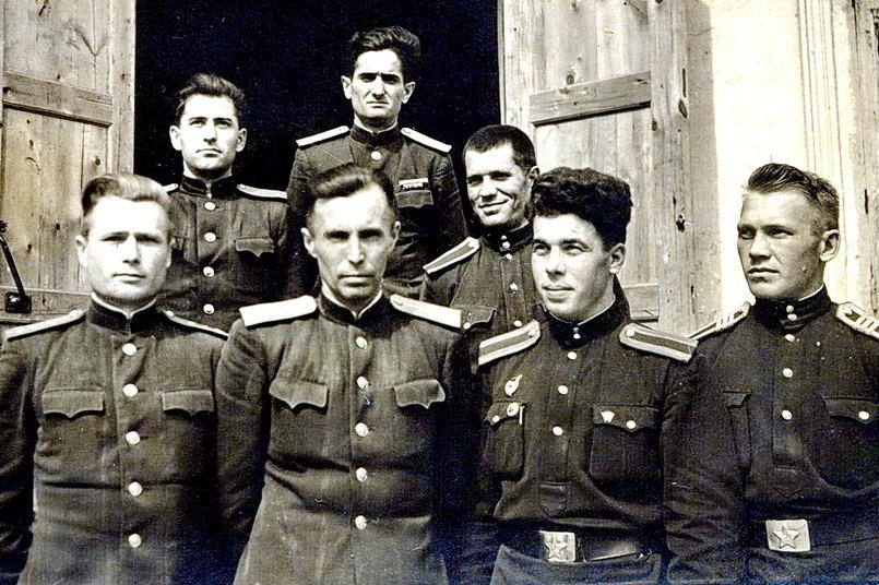 Курсанты Ташкентской ВШНС МВД-2