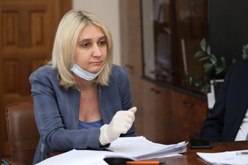 Председатель комитета по бюджету, ценообразованию, финансово-экономическому и налоговому законодательству ЗС Наталья Дикусарова