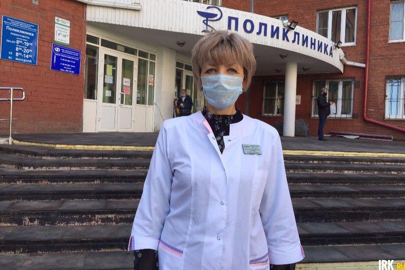 Заместитель главного врача по медицинской части Ольга Александровна Асауленко рассказала о работе больницы в условиях пандемии