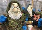 Оформление гномов. Фото пресс-службы администрации Иркутска