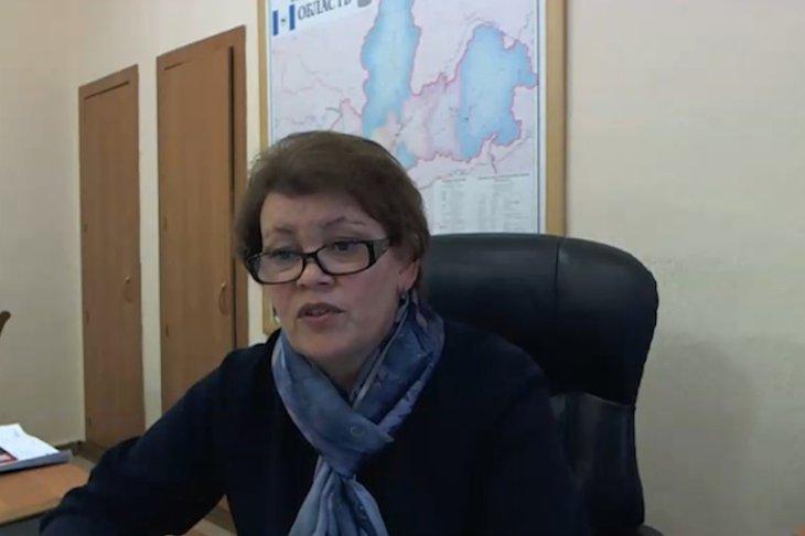 Валентина Вобликова. Фото с трансляции