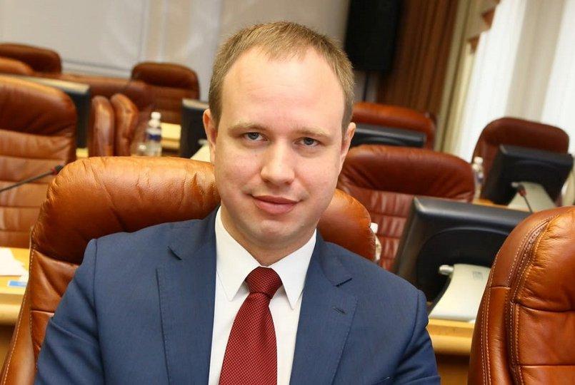 Андрей Левченко, председатель фракции КПРФ в заксобрании. Фотография с сайта www.irkutsk-kprf.ru/