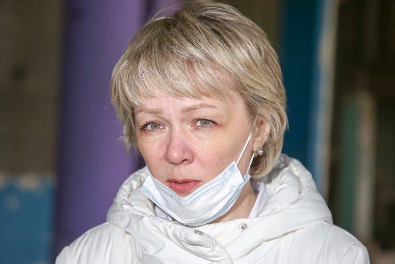 Ольга Клевцова отметила, что мамам с детьми будет удобно добираться до поликлиники, если ее построят на этом участке. Фото Валентина Карпова