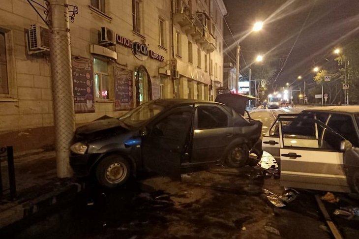 ДТП в Иркутске на Степана Разина