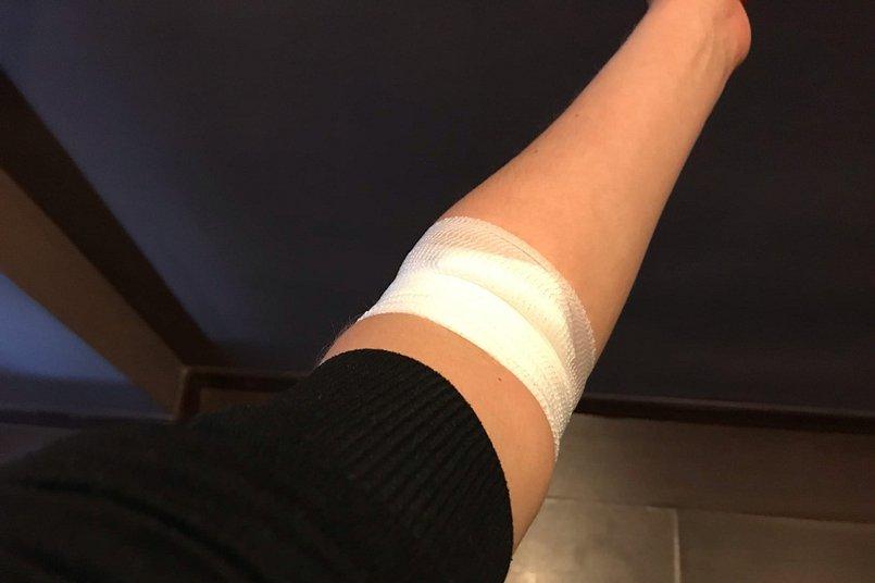 Кровь на анализ брали из вены, результат обещали через четыре дня