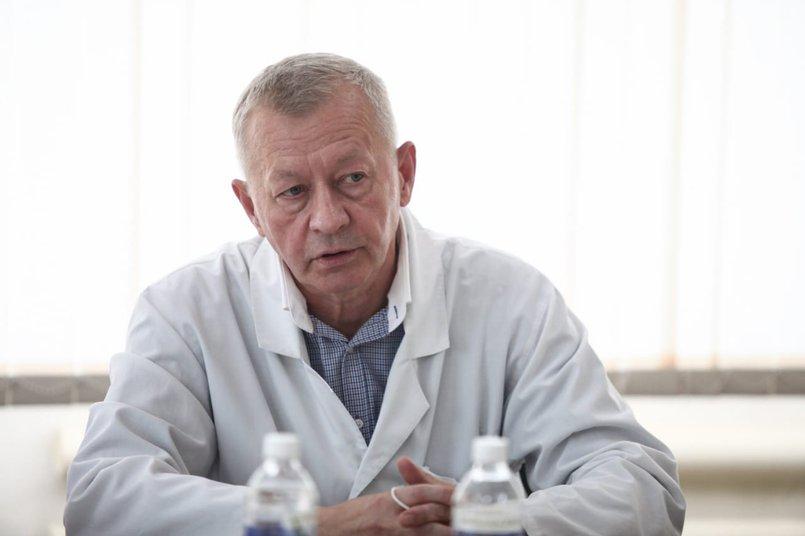 Владимир Горбачев, руководитель регионального сосудистого центра