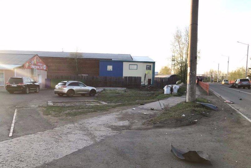 ДТП в поселке Вихоревка