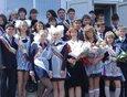Выпуск 2009. Усолье-Сибирское, гимназия №9, 11 «Б». На фото Анастасия Громова с одноклассниками.