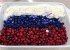 Десерт из пломбира, голубики и клюквы. Фото пресс-службы ОНФ Иркутск