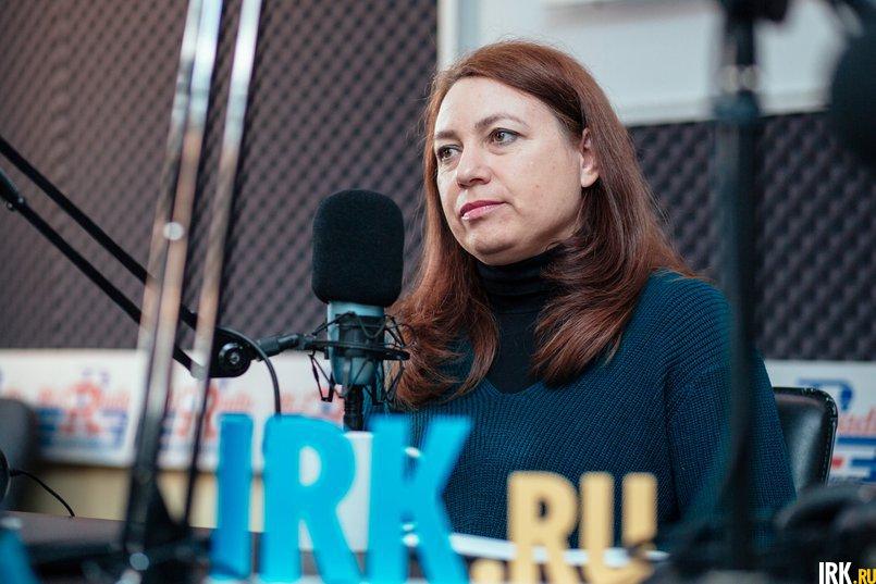 Галина Солонина, политобозреватель. Фото IRK.ru