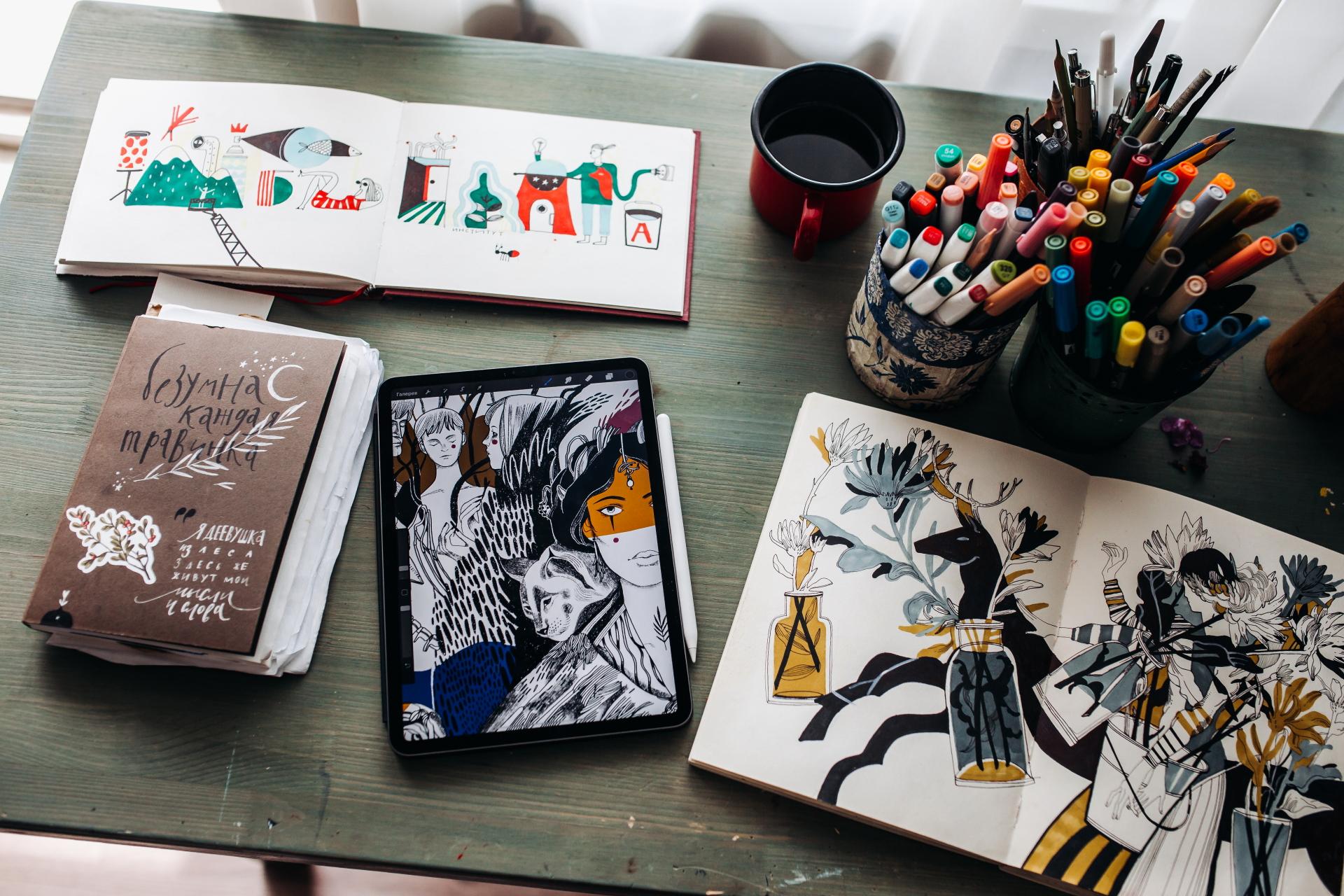 «У современных художников зрителей больше, чем у великих мастеров прошлых столетий», - утверждает Настя