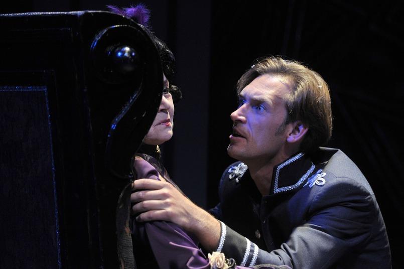 В роли Германна в спектакле «Пиковая дама»