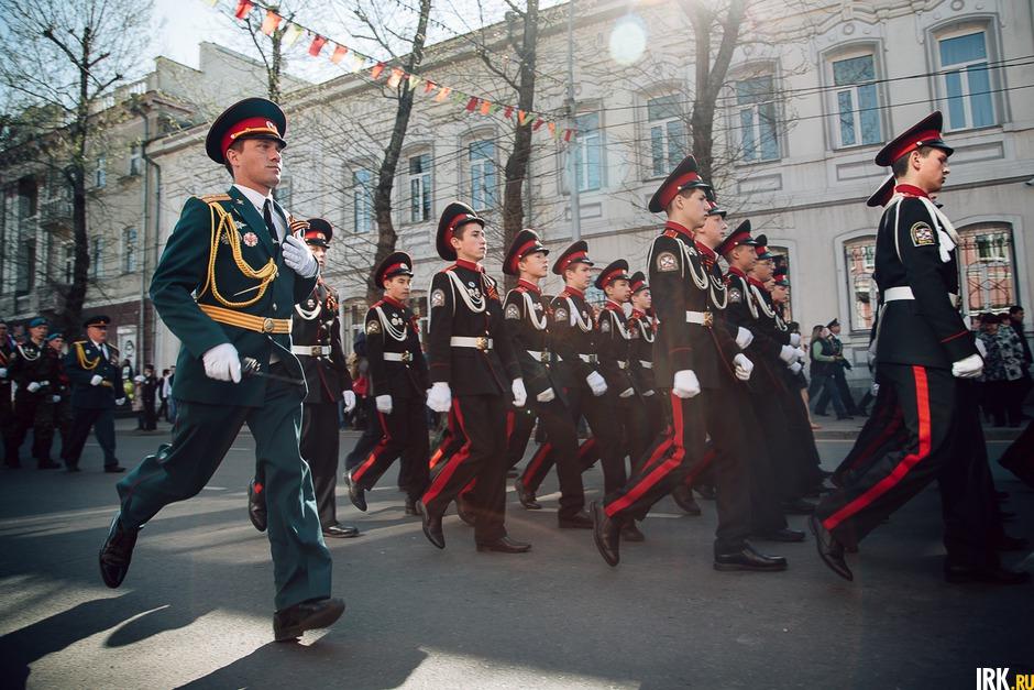 2015 год: Иркутск отметил 70-летие Победы в Великой Отечественной войне. Торжественное шествие прошло по центральным улицам города.