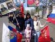 2018 год: в параде Победы иркутяне участвуют семьями.