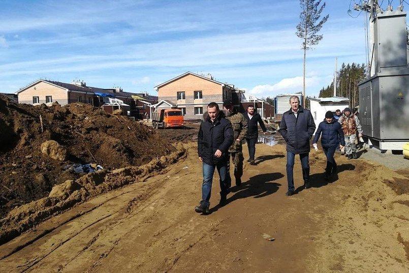 Первая рабочая поездка Дмитрия Бердникова в должности и.о. первого заместителя губернатора в Тулун и Тулунский район