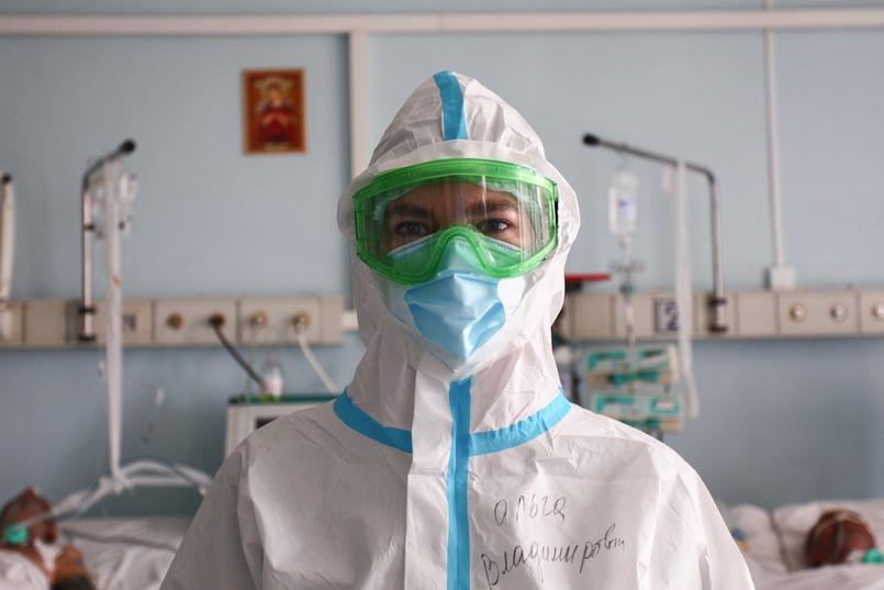 Врач-реаниматолог Ольга Шевченко
