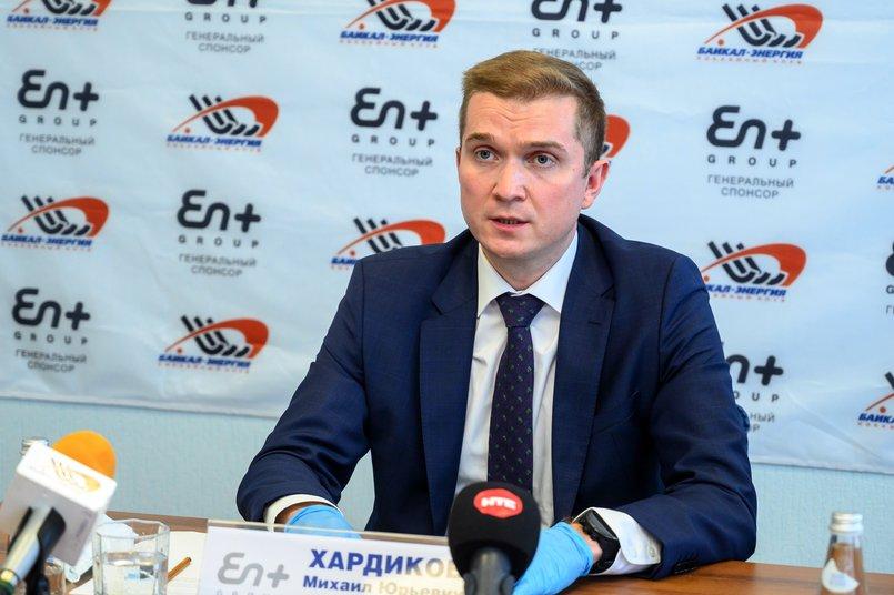 Руководитель энергетического бизнеса En+ Group Михаил Хардиков. Автор фото — Татьяна Глюк