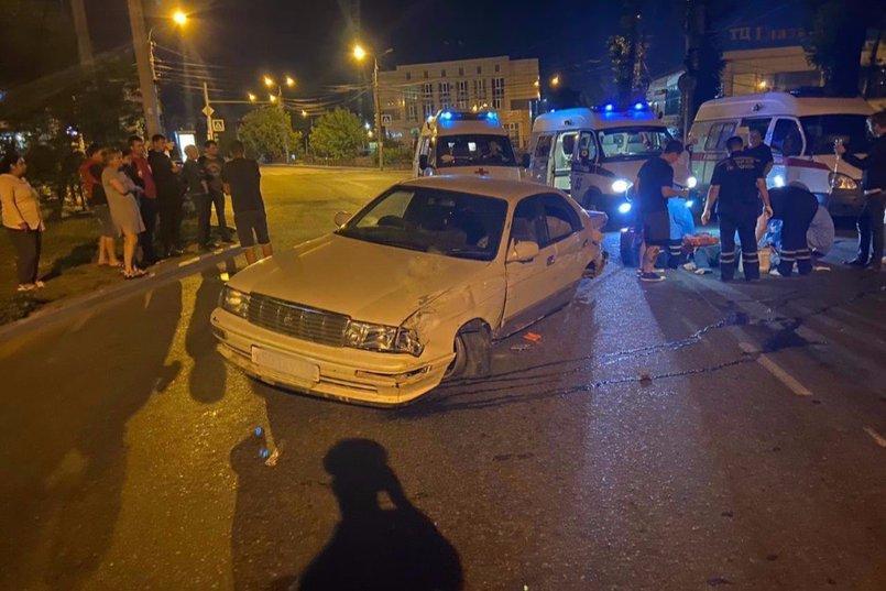 ДТП на улице Лермонтова