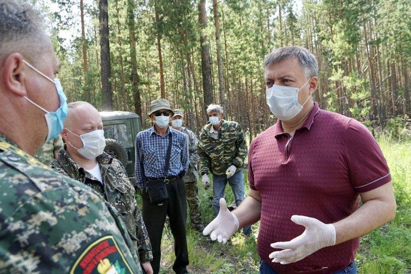 «Для многих стало неожиданностью, что мы стали вводить Росгвардию, ОМОН, полицию и проверять, кто едет в лес», - отмечал Игорь Кобзев