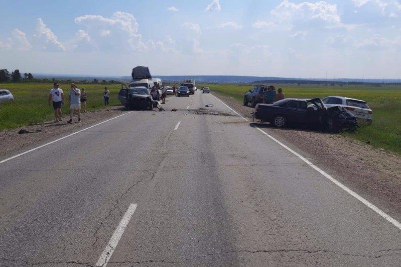 ДТП на 43-м километре Качугского тракта