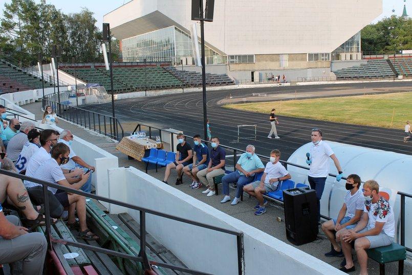 Встреча с болельщиками. Фото пресс-службы ХК «Байкал-Энергия»