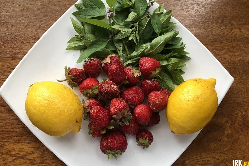 Для лимонада так же сгодится любая ягода