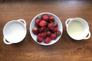 Вместо клубники можно взять любую другую ягоду
