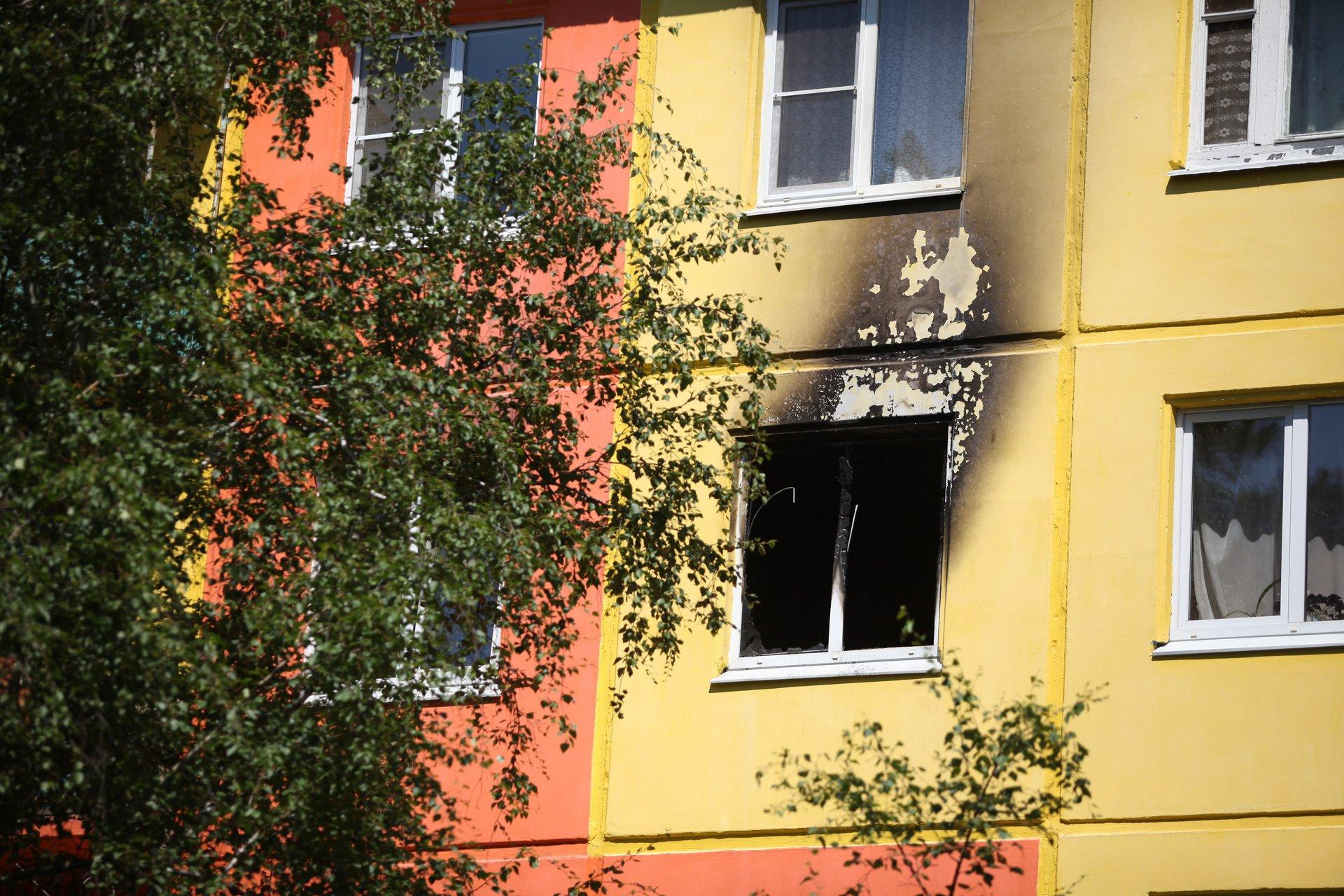 Пожар произошел 4 июня