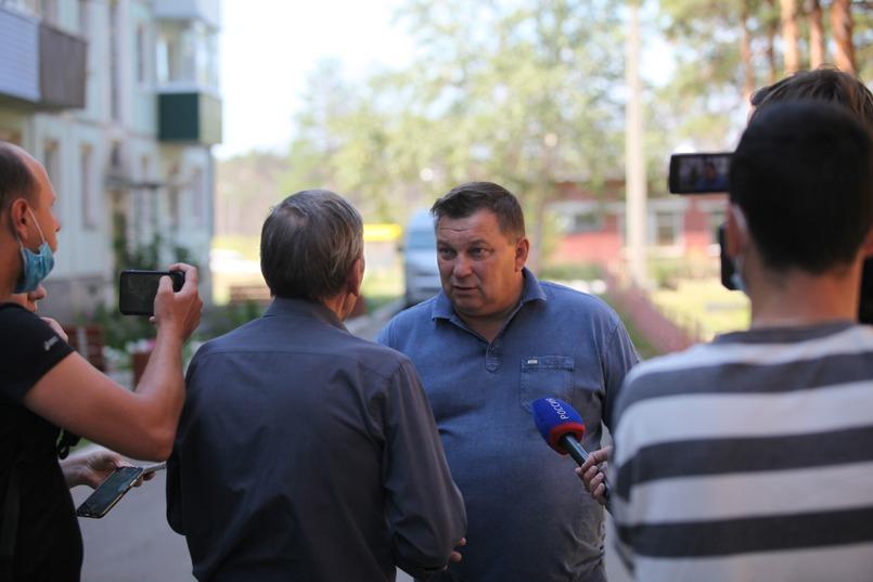 Глава Белореченского Сергей Ушаков пообещал, что в квартире сделают ремонт